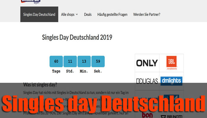 SinglesDayDeutschland